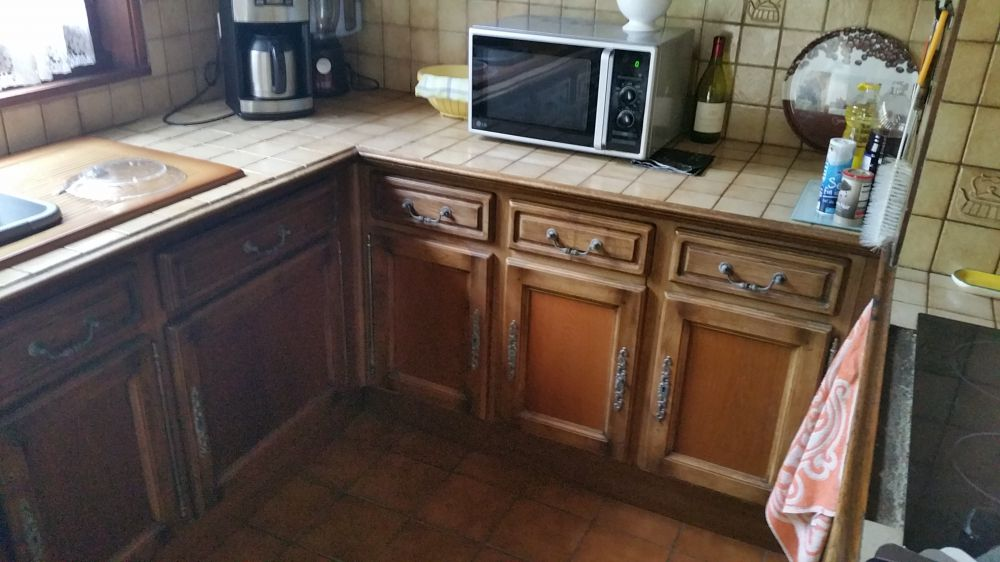 cuisine avant cuisine relookee nos r alisations galeries le doc du meuble. Black Bedroom Furniture Sets. Home Design Ideas