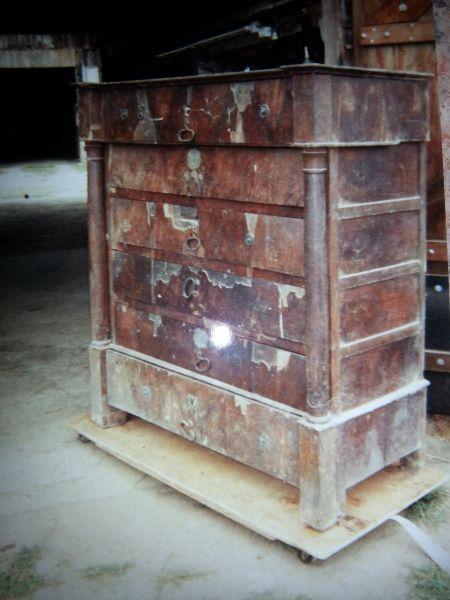 Restauration de meubles avant restauration de meubles - Restauration de meuble ...